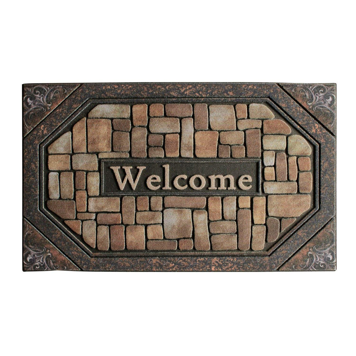 Front Door Mat Entrance Rug Floor Mats Waterproof Floor Mat Shoes Scraper Doormat 18u0027u0027x30u0027u0027 Patio Rug Dirt Debris Mud Trapper Outdoor Welcome Door Mat ...  sc 1 st  Alibaba & Buy Front Door Mat Entrance Rug Floor Mats Waterproof Floor Mat ...