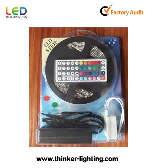 Trade Assurance Kingunion LED Strip 5050 RGB Blister Kit Series CE&RoHS Approved
