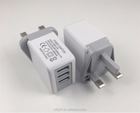 High Quality UK 3Pin Plug Charger Power Adapter USB Wall Charger For iphone 6 6s 7 UK Charger