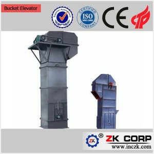hopper bucket elevator for Coal, Cement, Gravel, Sand, Fertilizer, etc