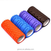 Hot sale custom high density yoga rubber foam roller for exercise