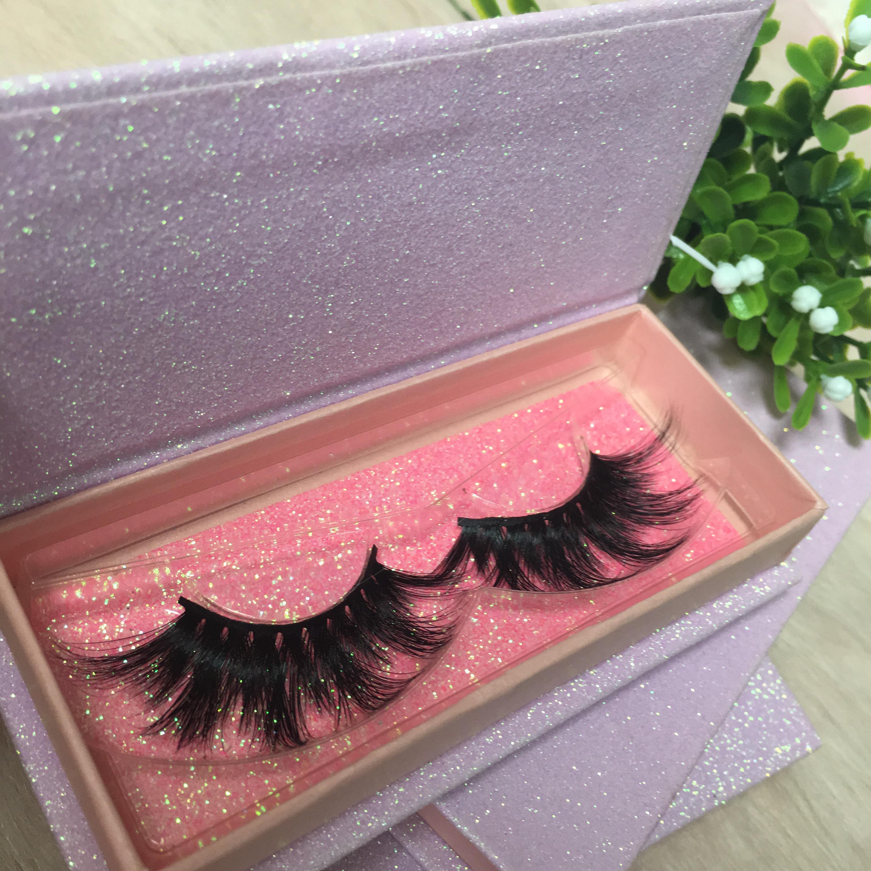 35714069f2e 25mm 22mm 3d Mink Eyelashes Private Label Mink Eyelash Silk Lashes ...