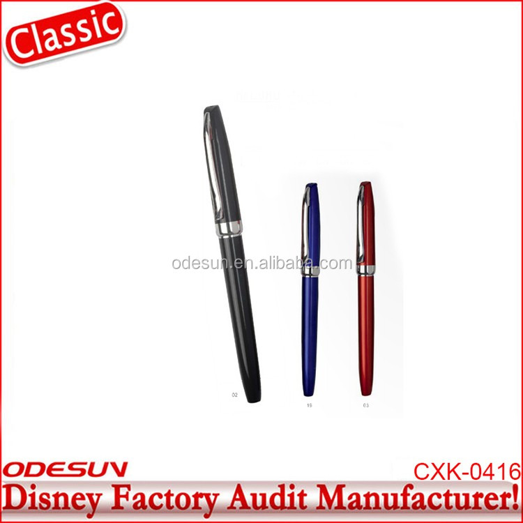 Disney Universal NBCU FAMA BSCI GSV Carrefour Factory Audit Manufacturer Promotional Gift Twist Open Metal Ballpoint Pen