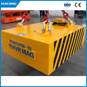 electro permanent lifting magnet for scrap from turnings