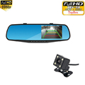 Newest 4 3 inch IPS Screen Car Rearview Mirror Full HD 1080P Car Camera Parking Night