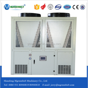 Dubai Big Size R22 Carrier Air Cooler Screw Water Chiller