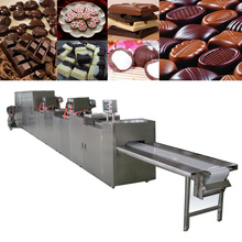Automatic chocolate making/molding/chip/forming machine production line
