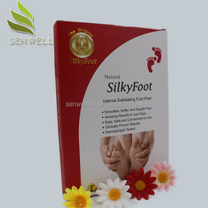 OEM Wholesale Baby milky peeling exfoliating Korea foot mask spa