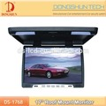 17 inch flip down monitor with USB,SD and MP5 for all car