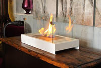 cheap real flame intelligent fireplace for club, vila,hotel,apartment,office decoration