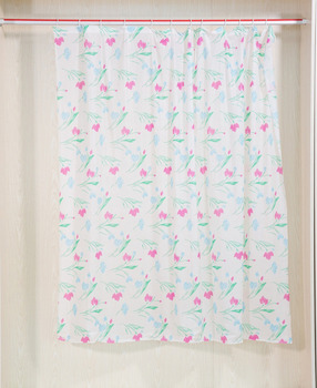 China Manufacturer Printed Color Changing Shower Curtain