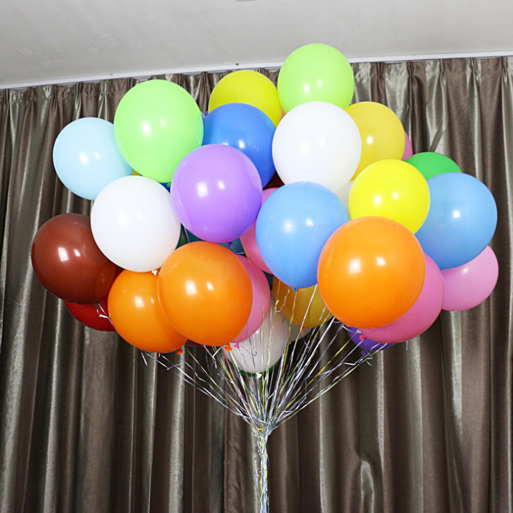 36 Inch Big Round Latex Balloon For Party Decoration Advertising Balloon Accept Printing Logo