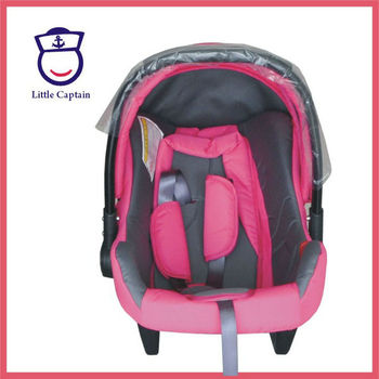 Plastic Car Seat Aluminium Tube Handle Baby Doll Carrier