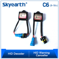 Skyearth Lighting HID Xenon Conversion Kit Canbus Warning Canceller C6