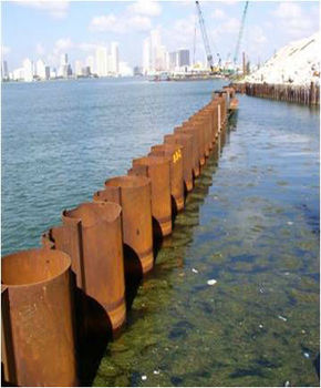 Steel Pipe Sheet Pile Buy Ssaw Spiral Steel Pile Product