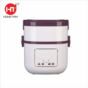 2018 NEW ARRIVAL HTF-3004 2015 New Item DIY Keep Warm Thermal Electric Heated Lunch Box Mini Rice Cooker