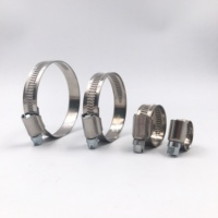 Stainless steel slot design germany type hose clamp 9mm 12mm