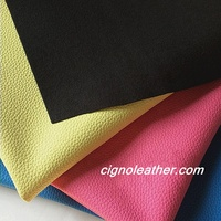 Colorful vinyl fabric pvc synthetic leather for shoes, handbags,car seat and furniture