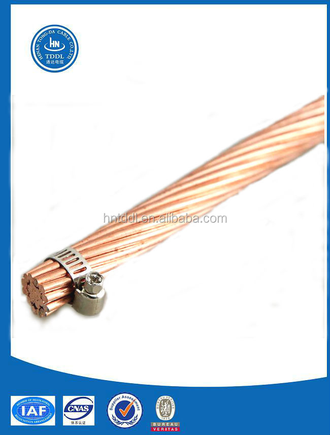 Copper Wire/strand For Electric Railway Din48201 - Buy Strand Copper ...