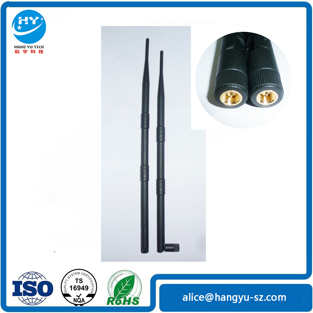 Top Quality Long Rubber Omni Wireless Indoor <strong>Antenna</strong> 9DBI Indoor High Gain WiFi <strong>Antenna</strong>