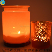 Payment protection christmas tealight pink mercury votive candle holders colorful round jars