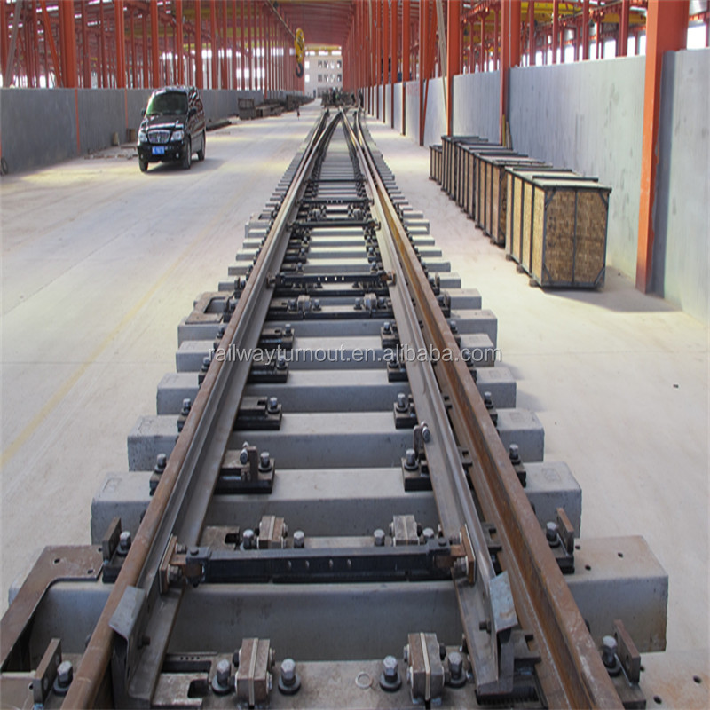 2016 new product for passenger and freight and mining railway switches price