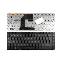 Original New US keyboard for H P Pro Book 6460b 6465b 6470b 6475b with Black Frame