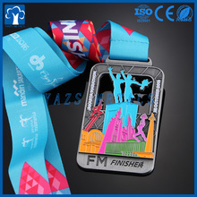 Medal manufacturer custom making awards metal sports finisher medal