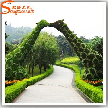 Etonnant Factory Customize Artificial Plastic Garden Topiary Frames