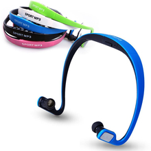 Cheap Sports Wireless Headphone Music MP3 Player Headset Micro SD TF Card FM radio Earphone – 5 Color