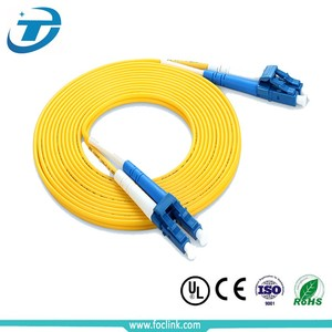 10M LC Simplex Duplex 9 125 Singlemode Yellow Fiber Optic Patch Cable Cord Jumper