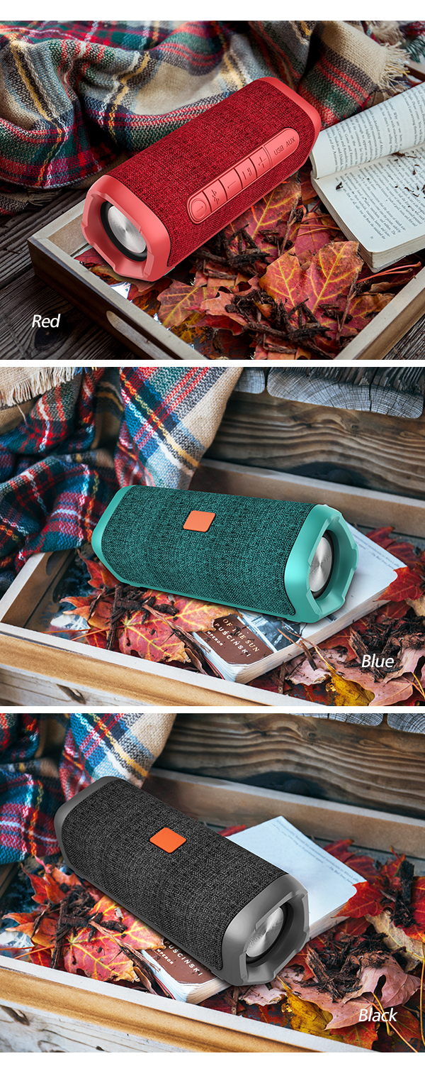 Isi Ulang Bluetooth Speaker 12 W untuk iPhone/iPad/Tablet PC Tws Tahan Air Stereo Speaker