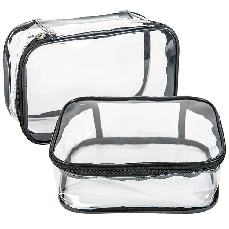 Waterproof Transparent Travel Toiletry Kit Folding Makeup