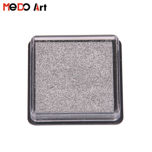 High Quality Fade-resistant Silver Ink Pad Shiny Stamp