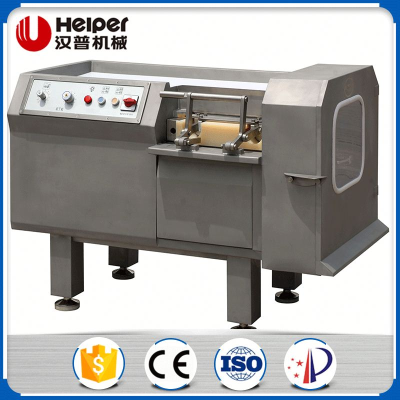 Electric Frozen Meat Cube Cutting Machine