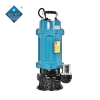 1hp 220V portable water pump submerged clean water pump industrial irrigation
