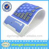 Silicon Rubber Keyboard roll up wireless keyboard for ipad