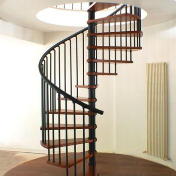 Interne Wendeltreppe Design Fur Holz Treppenstufen Edelstahl
