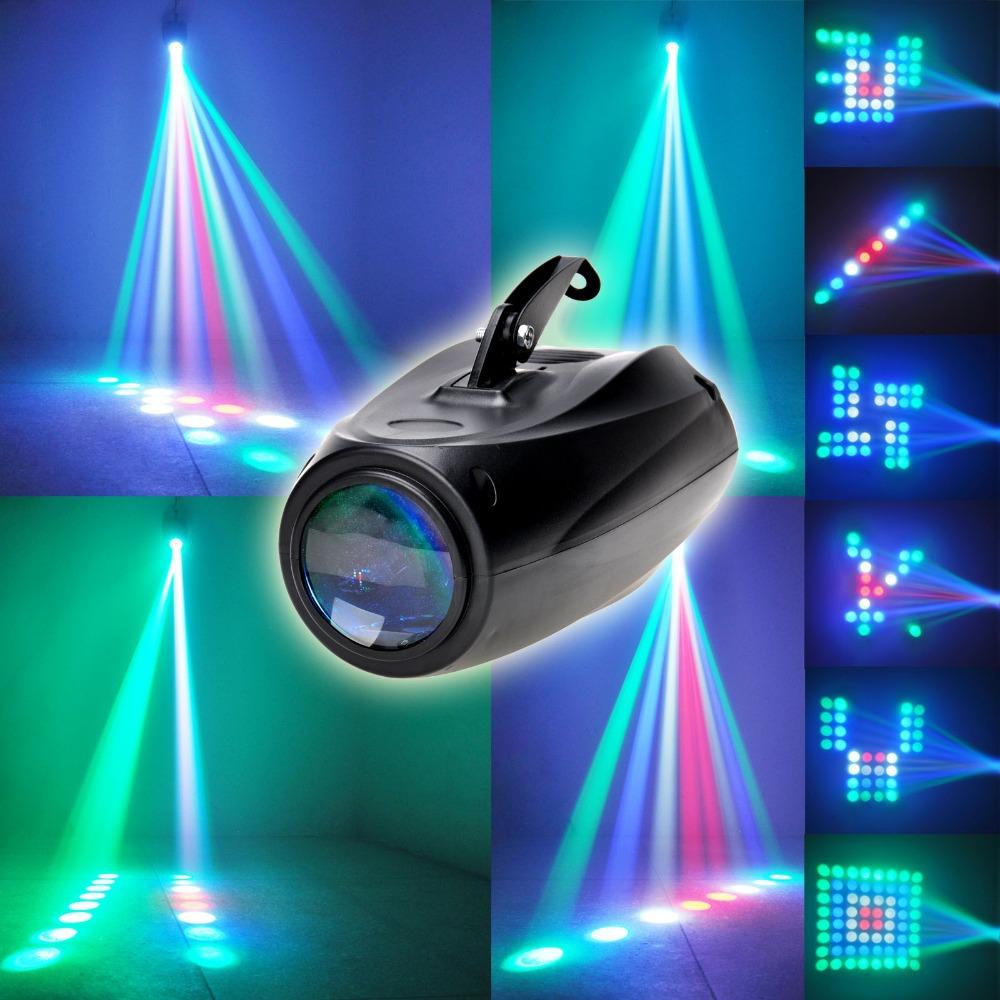 Auto/Sound Active 64 LEDs RGBW Light Disco Club Party Show Hundreds of Patterns [XL94]
