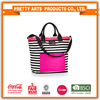 Wholesale factory price handle beach travel tote bag customized printed