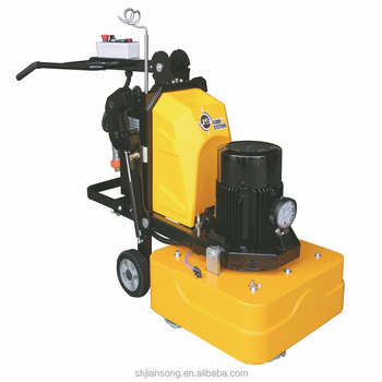 JS700 Gear driven 4 heads concrete floor grinder and polisher for sale