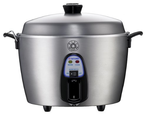 Tatung – TAC-06KN(UL) – 6 Cup Multi-Functional Stainless Steel Rice Cooker – Silver