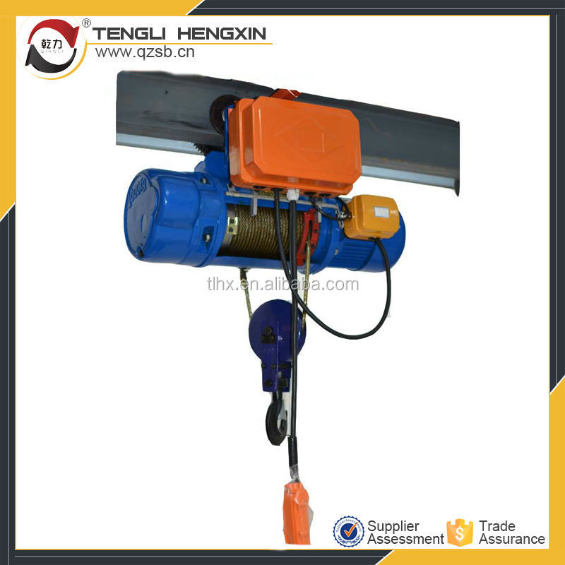 Wire Rope Hoist Electric Winch 3 Ton 5 Ton - Buy Electric Winch 3 ...