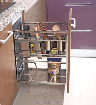 China suppliers best selling stainless steel kitchen for Baskets on top of kitchen cabinets
