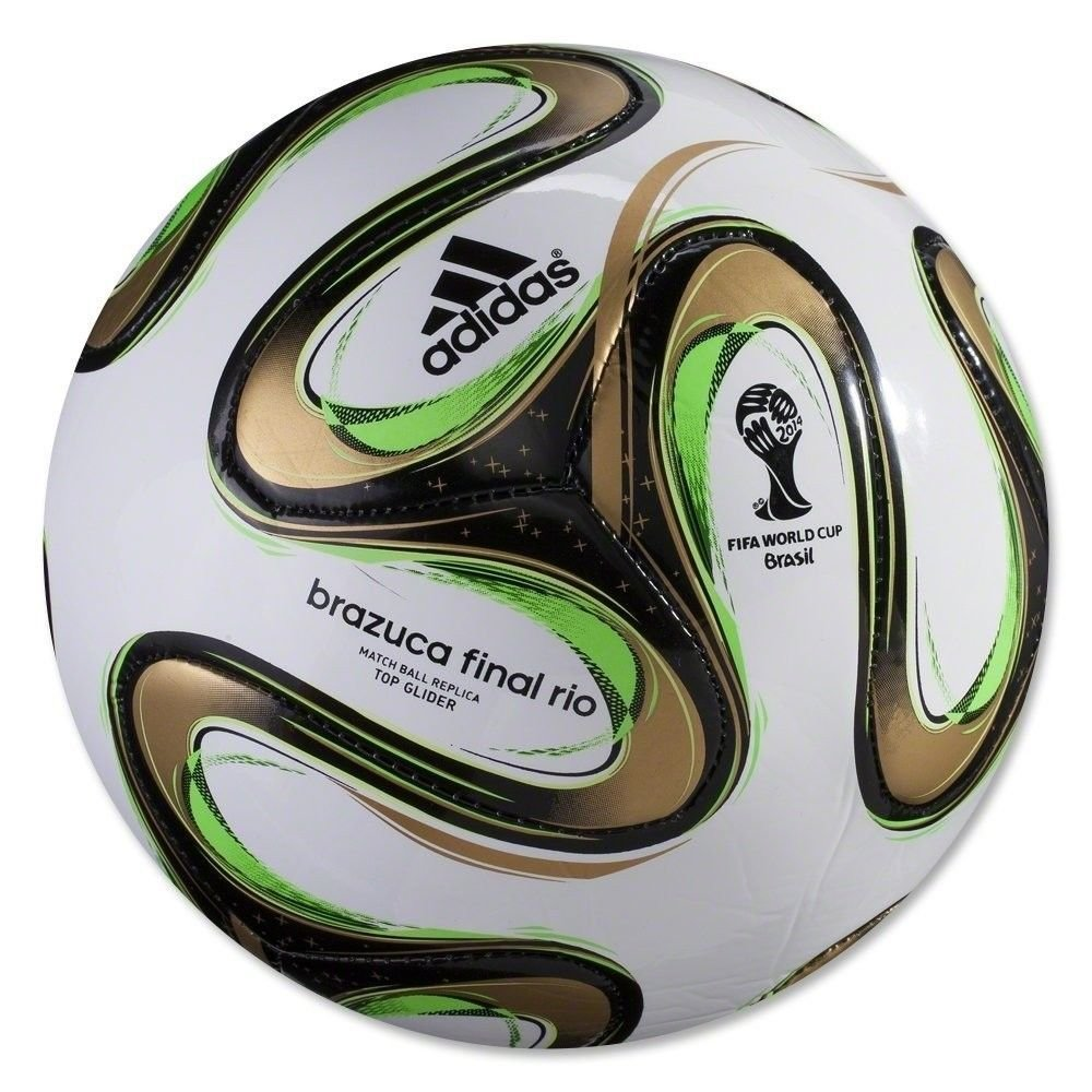 competitive price 16340 a3ed2 OFFICIAL FIFA 2014 WORLD CUP BRAZUCA FINAL MATCH SOCCER BALL SIZE 5 NEW