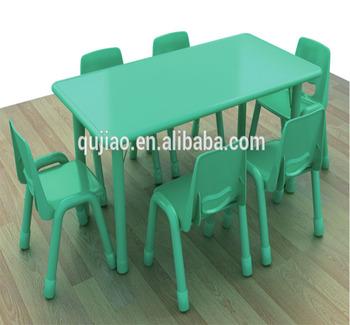 Adjustable Table For Six Kids Homework Table