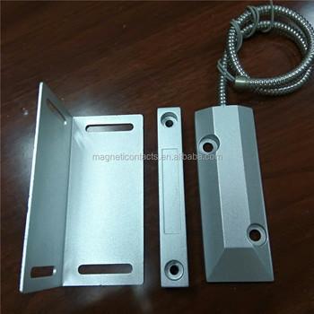 Roller Shutter Magnetic Contact Magnetic Door Sensor Switch Alarm Door Switch Factory Wholesale & Roller Shutter Magnetic Contact Magnetic Door Sensor Switch Alarm ... pezcame.com