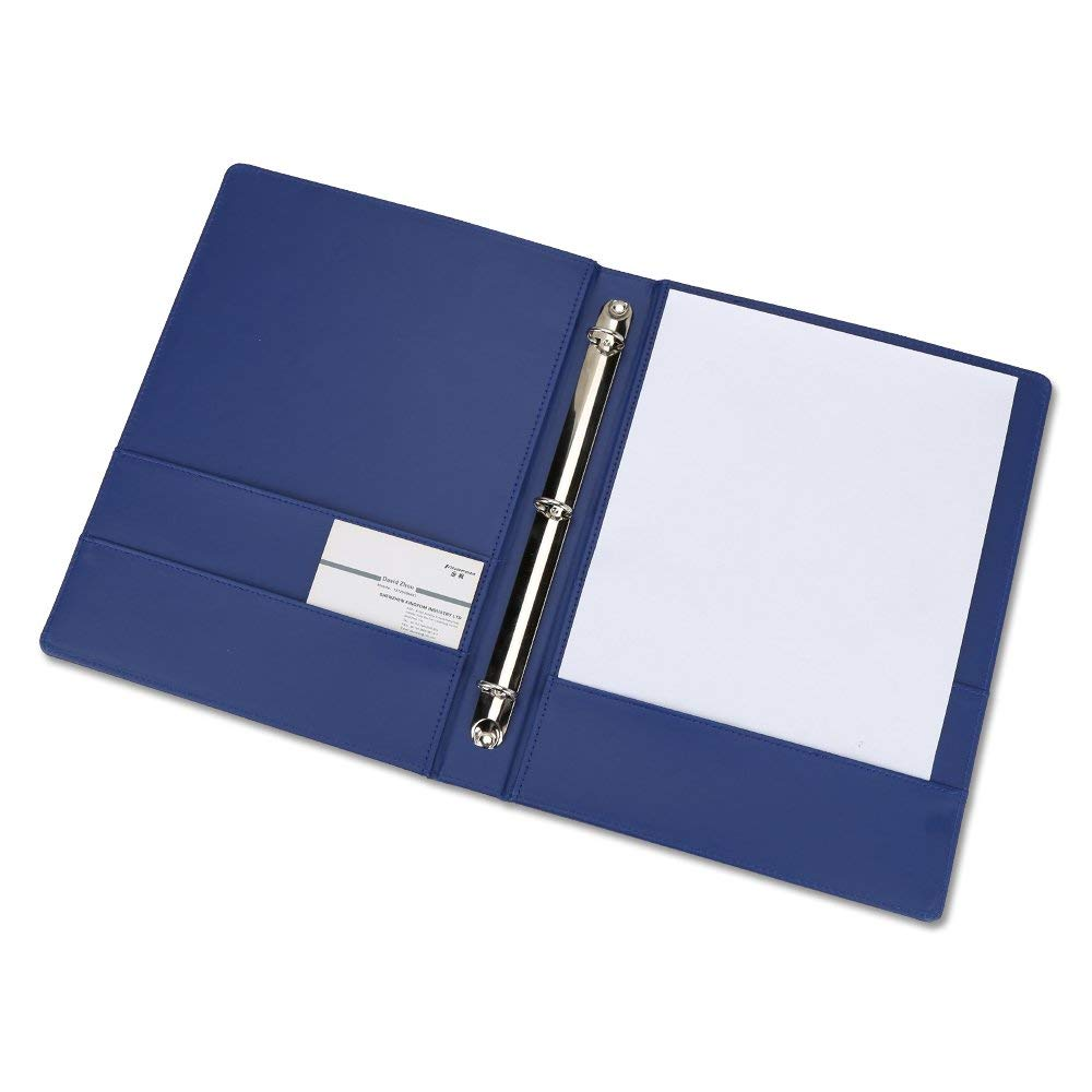 A4 Faux Lederen Padfolio 3/4/6 Ringband Business Bestandsmap Document Houder
