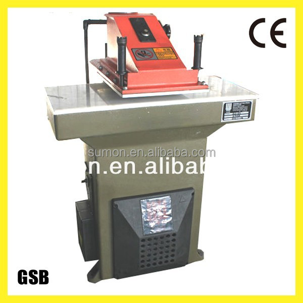 atom clicking swing arm cutting press machine