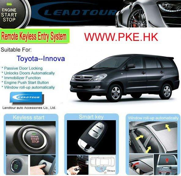 Engine Start/stop System Passive Keyless Entry Pke Remote Control ...